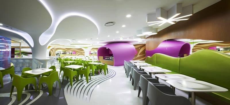 餐厅设计——韩国 food capital|软装设计|曼洛尼咨询