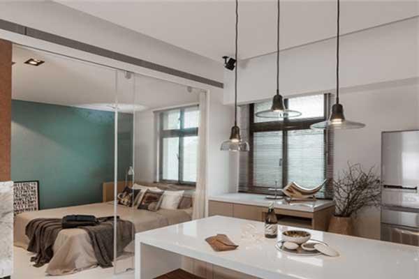 单身公寓软装设计