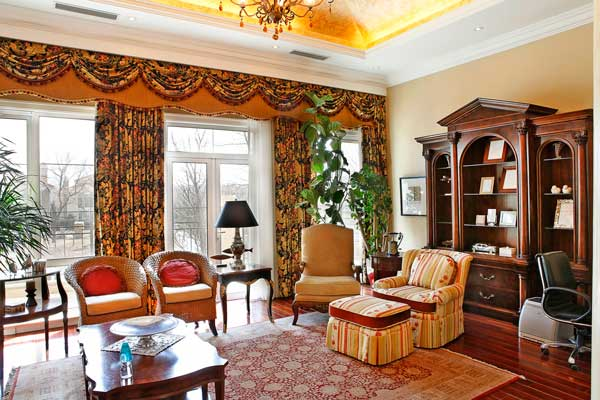优山美地欧式古典别墅软装设计方案