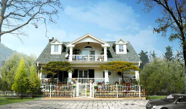 联排别墅:即Town House,有天有地,有自己的院子和车库。由三个或三个以上的单元住宅组成,一排二至四层联结在一起,每几个单元共用外墙,有统一的平面设计和独立的门户。Town House是目前大多数经济型别墅采取的形式之一。  双拼别墅:这个别墅的定义是联排别墅与独栋别墅