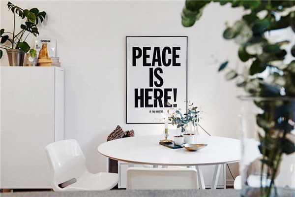瑞典现代简约风格公寓设计