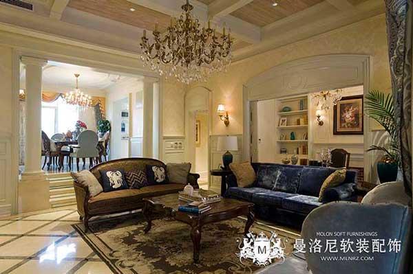 美式新古典别墅样板房设计