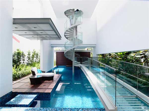螺旋楼梯别墅设计