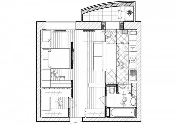 小户型公寓住宅设计