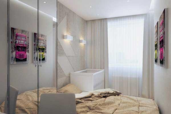 50平米时尚创新的小公寓设计4