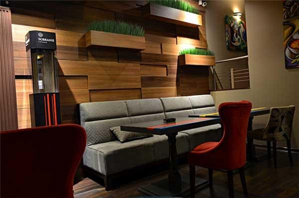 英式风格小资格调餐厅设计