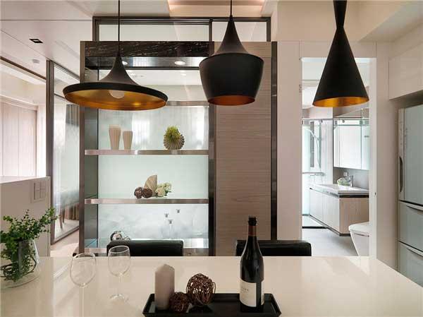 50平米精致小户型公寓软装设计9