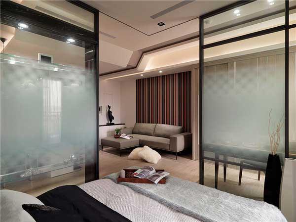50平米精致小户型公寓软装设计6