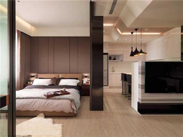 50平米精致小户型公寓软装设计4