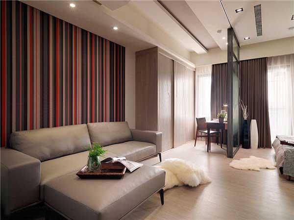 50平米精致小户型公寓软装设计1