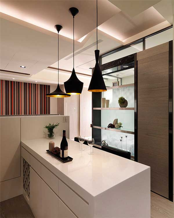 50平米精致小户型公寓软装设计8