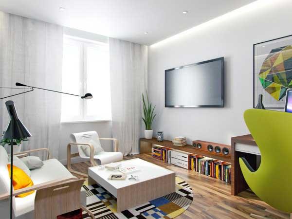 漂亮的50平米小公寓设计|软装设计|曼洛尼咨询热线