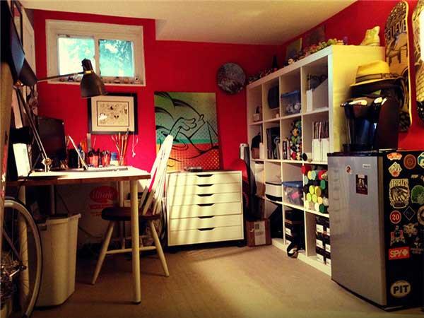 创意家庭工作室设计|软装设计|曼洛尼咨询热线:4006