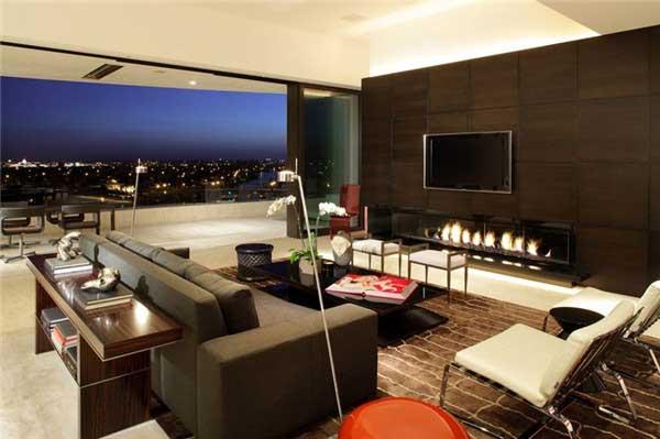 国外创意电视背景墙设计2