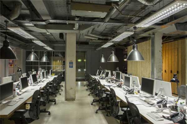 后期制作公司MPC伦敦办公室设计6
