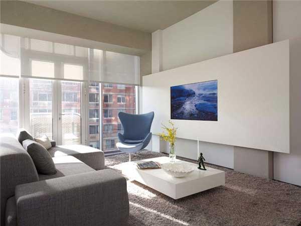 国外创意电视背景墙设计5