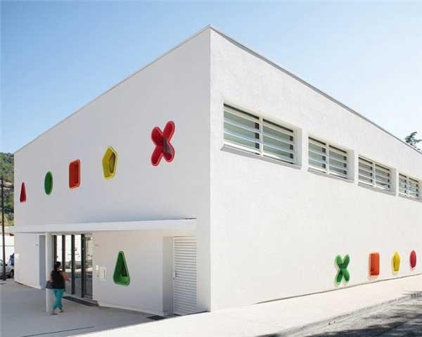 國外充滿童趣的幼兒園設計