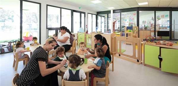 国外充满童趣的幼儿园设计图片