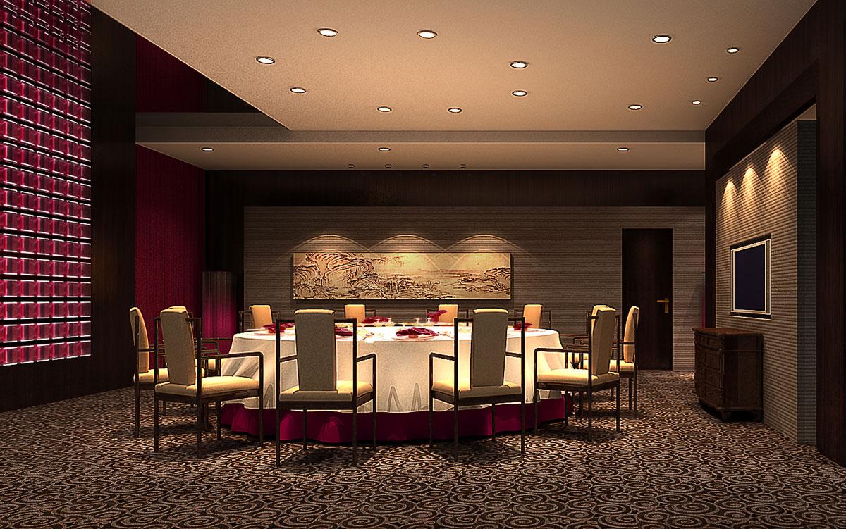 曼洛尼经典案例-海中天餐厅(中式风格)