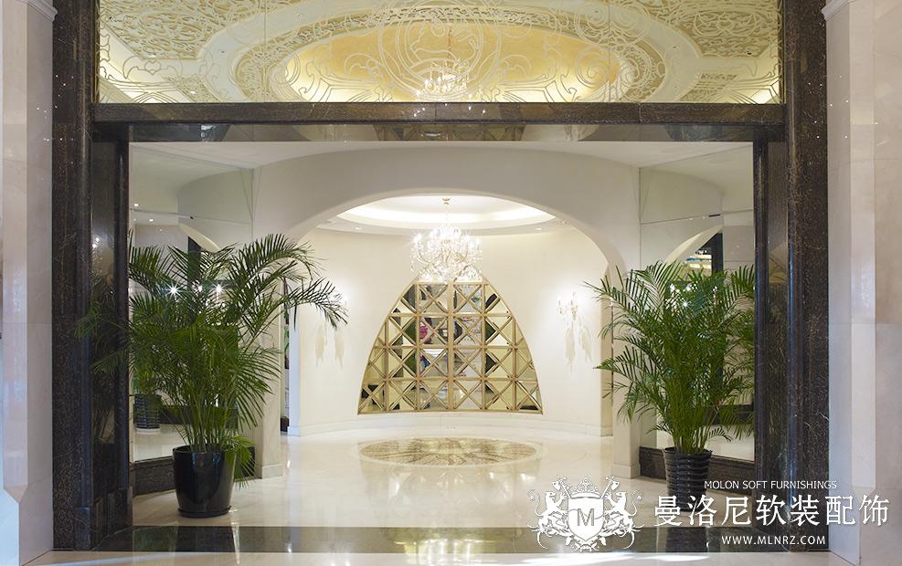 曼洛尼经典软装案例-新加坡花园售楼处