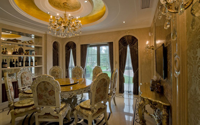 500平米法式风格别墅