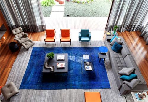 圣保罗现代大气的私人住宅的软装配饰设计成品