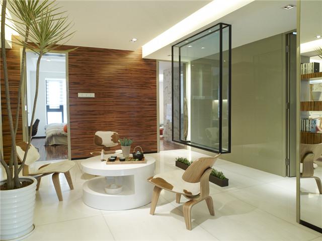 现代简约-珠海锦园样板房软装