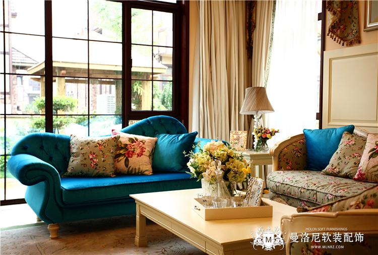 法式田园小碎花秀丽沙发枕