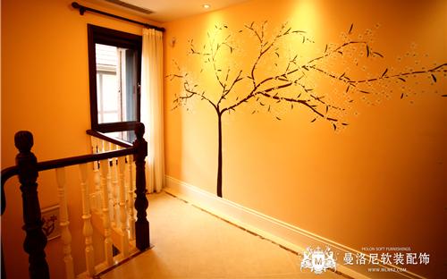 夕阳灯光下的浪漫效果——走廊筒灯