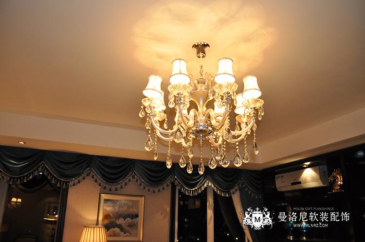 欧式风格奢华客厅吊灯