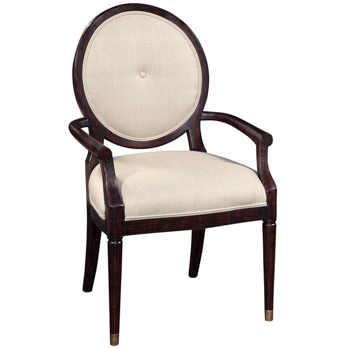艾默生扶手餐椅