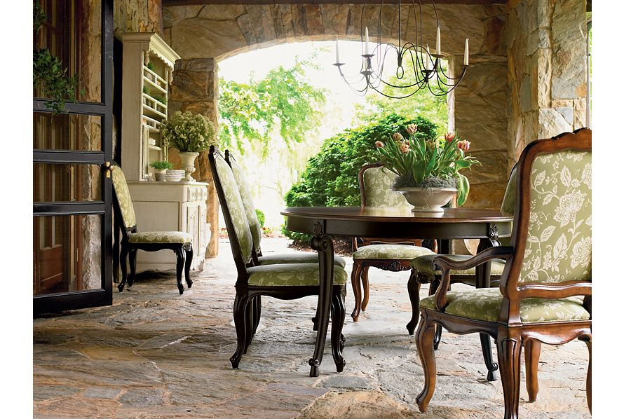 美国进口家具Drexel Heritage:无扶手座椅