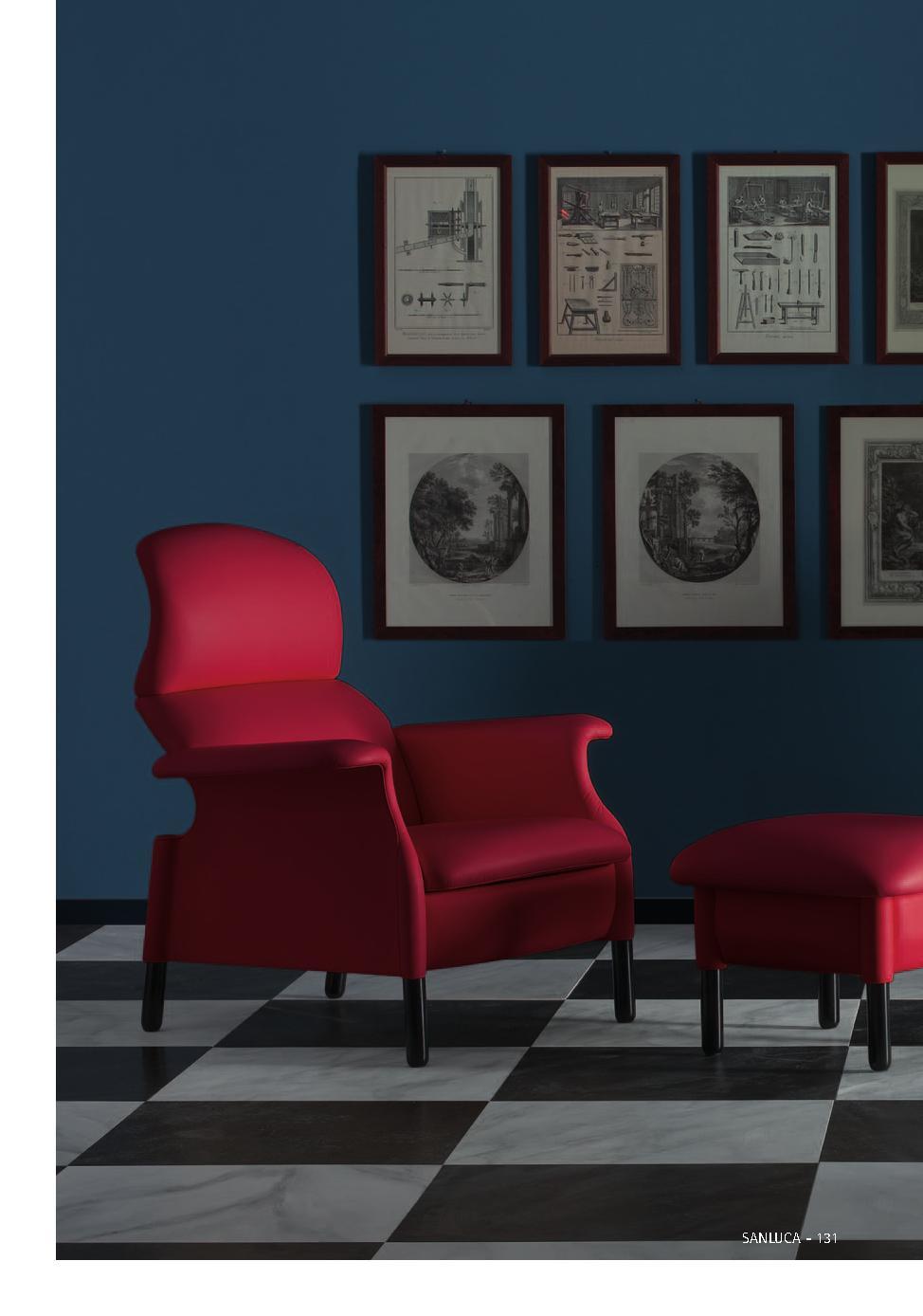 Poltrona Frau-休闲单人沙发椅