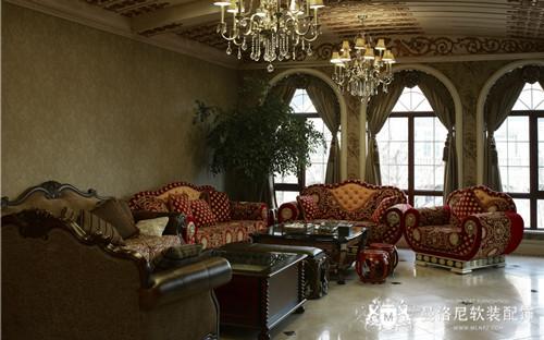 传统美式古朴定制布艺抱枕