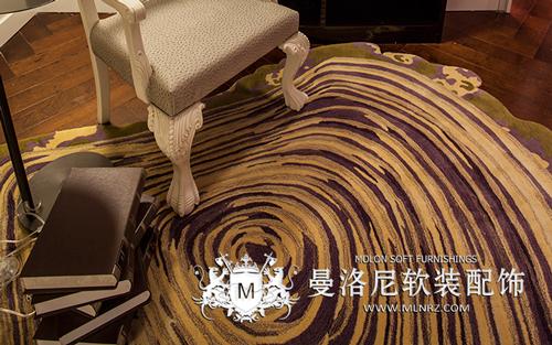 艺术感十足的梦幻定制布地毯