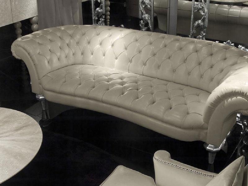 Cappellini-白色真皮沙发