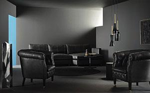 Poltrona Frau-现代风格深色系沙发
