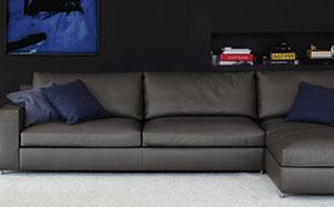 Poltrona Frau-现代灰色系沙发