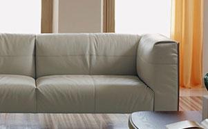Poltrona Frau-浅棕色系组合沙发